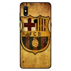 Durable FC Barcelona Cover For Xiaomi Mi Mix 3
