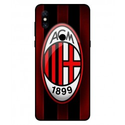 Durable AC Milan Cover For Xiaomi Mi Mix 3
