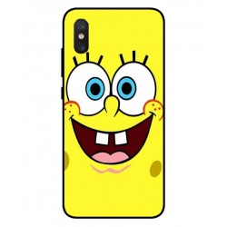 Durable SpongeBob Cover For Xiaomi Mi 8 Pro