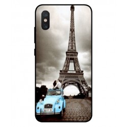 Durable Paris Eiffel Tower Cover For Xiaomi Mi 8 Pro
