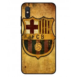 Durable FC Barcelona Cover For Xiaomi Mi 8 Pro