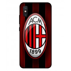 Durable AC Milan Cover For Xiaomi Mi 8 Pro