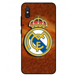 Durable Real Madrid Cover For Xiaomi Mi 8 Pro