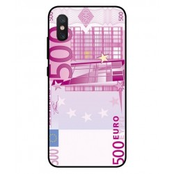 Durable 500 Euro Note Cover For Xiaomi Mi 8 Pro