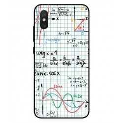 Durable Mathematics Cover For Xiaomi Mi 8 Pro