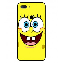 Durable SpongeBob Cover For Xiaomi Mi 8 Lite