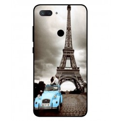 Durable Paris Eiffel Tower Cover For Xiaomi Mi 8 Lite