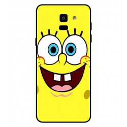 Durable SpongeBob Cover For Samsung Galaxy On6