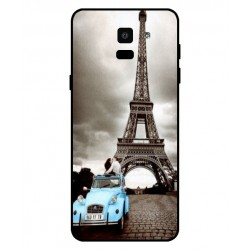 Durable Paris Eiffel Tower Cover For Samsung Galaxy On6