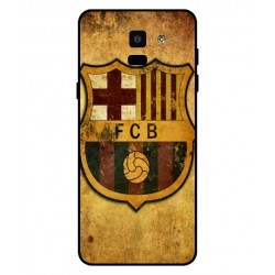 Durable FC Barcelona Cover For Samsung Galaxy On6