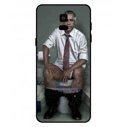 Durable Obama On The Toilet Cover For Samsung Galaxy On6