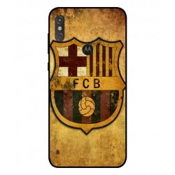 Durable FC Barcelona Cover For Motorola One