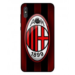 Durable AC Milan Cover For Motorola One