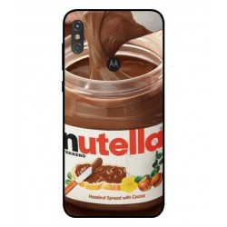 Durable Nutella Cover For Motorola One