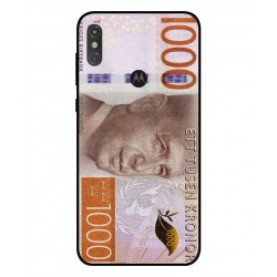 Durable 1000Kr Sweden Note Cover For Motorola One