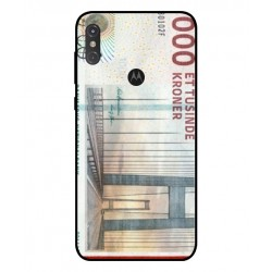 1000 Danish Kroner Note Cover For Motorola One
