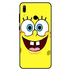 Durable SpongeBob Cover For Huawei Y7 Pro 2019