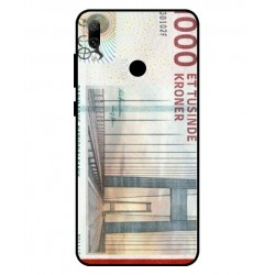 1000 Danish Kroner Note Cover For Huawei Y7 Pro 2019