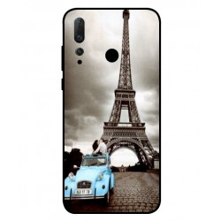 Durable Paris Eiffel Tower Cover For Huawei Nova 4
