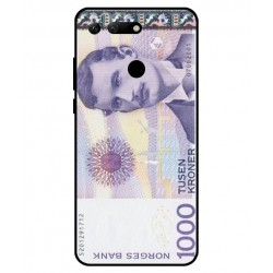 1000 Norwegian Kroner Note Cover For Huawei Honor View 20