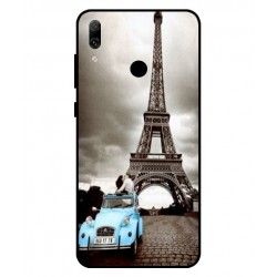 Durable Paris Eiffel Tower Cover For Huawei P Smart 2019