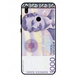 1000 Norwegian Kroner Note Cover For Huawei P Smart 2019