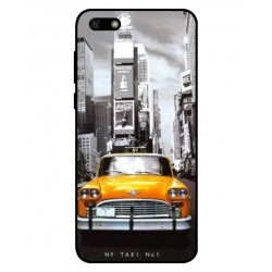 Durable New York Cover For Huawei Y5 Lite 2018