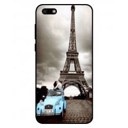 Durable Paris Eiffel Tower Cover For Huawei Y5 Lite 2018