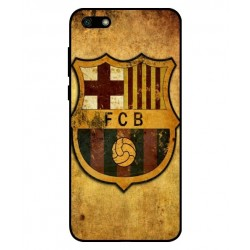 Durable FC Barcelona Cover For Huawei Y5 Lite 2018