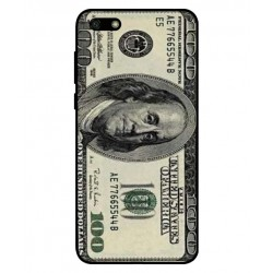 Durable 100 Dollar Note Cover For Huawei Y5 Lite 2018