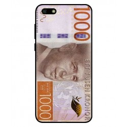 Durable 1000Kr Sweden Note Cover For Huawei Y5 Lite 2018