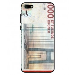 1000 Danish Kroner Note Cover For Huawei Y5 Lite 2018