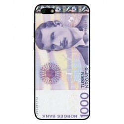 1000 Norwegian Kroner Note Cover For Huawei Y5 Lite 2018