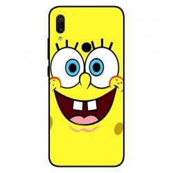 Durable SpongeBob Cover For Xiaomi Redmi Note 7 Pro