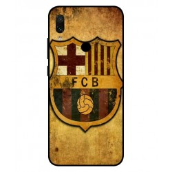 Durable FC Barcelona Cover For Xiaomi Redmi Note 7 Pro