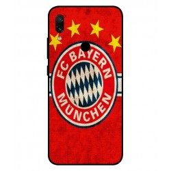 Durable Bayern De Munich Cover For Xiaomi Redmi Note 7 Pro