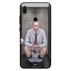 Durable Vladimir Putin On The Toilet Cover For Xiaomi Redmi Note 7 Pro