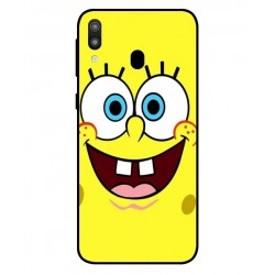Durable SpongeBob Cover For Samsung Galaxy M20