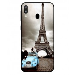 Durable Paris Eiffel Tower Cover For Samsung Galaxy M20