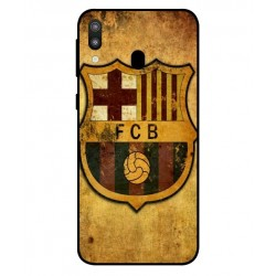 Durable FC Barcelona Cover For Samsung Galaxy M20