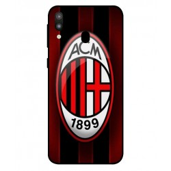 Durable AC Milan Cover For Samsung Galaxy M20