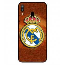Durable Real Madrid Cover For Samsung Galaxy M20