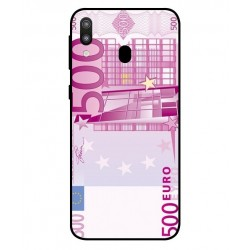 Durable 500 Euro Note Cover For Samsung Galaxy M20