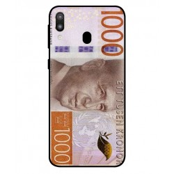 Durable 1000Kr Sweden Note Cover For Samsung Galaxy M20