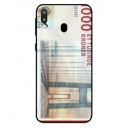 1000 Danish Kroner Note Cover For Samsung Galaxy M20