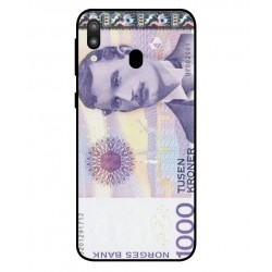 1000 Norwegian Kroner Note Cover For Samsung Galaxy M20