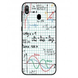 Durable Mathematics Cover For Samsung Galaxy M20