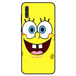 Durable SpongeBob Cover For Samsung Galaxy A50