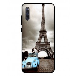 Durable Paris Eiffel Tower Cover For Xiaomi Mi 9