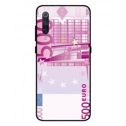 Durable 500 Euro Note Cover For Xiaomi Mi 9